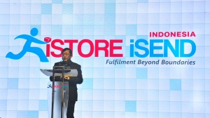 Launching iStore iSend in Indonesia